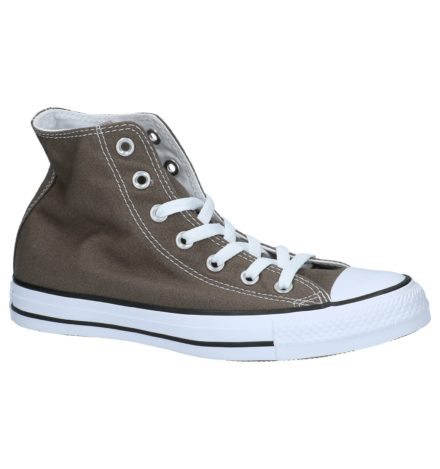 Converse All Star Hi Core Grijze Hoge Sportieve Sneakers