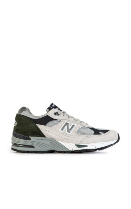 New Balance M991 WGN White Grey