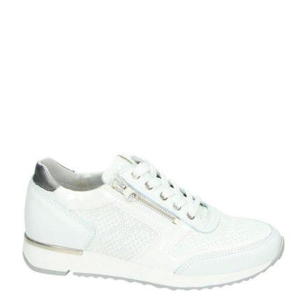 Nelson leren sneakers (wit)
