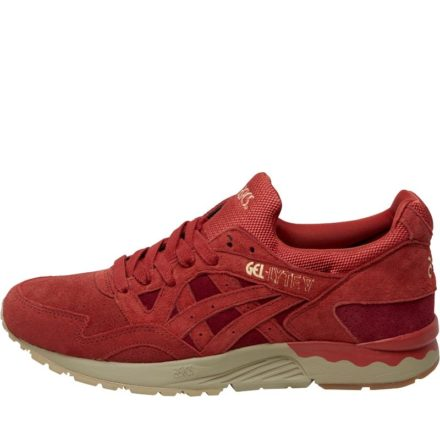 Asics Tiger Heren Gel Lyte V Tandoori Pack Sneakers Rood