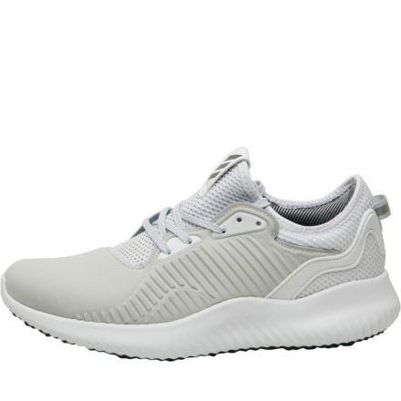 Adidas Dames Alphabounce Lux Neutraal Hardloopschoenen Lichtgrijs