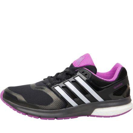 Adidas Dames Questar Boost TechFit Neutraal Hardloopschoenen Zwart