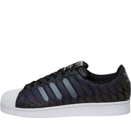 Adidas Originals Heren Superstar Xeno Super Sneakers Zwart