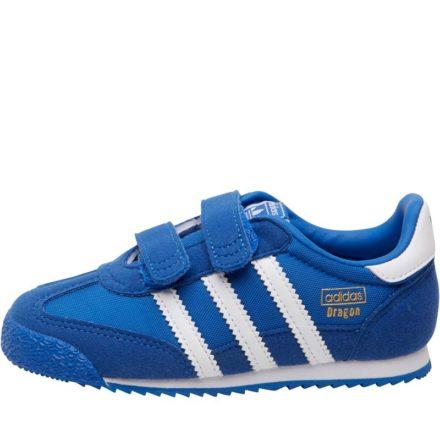 Adidas Originals Peuter Jongens Dragon OG CF Sneakers KoningsBlauww