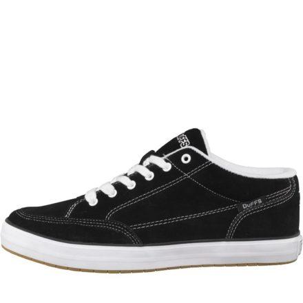 DuFFS Heren Strombolie Suède Skateschoenen Zwart