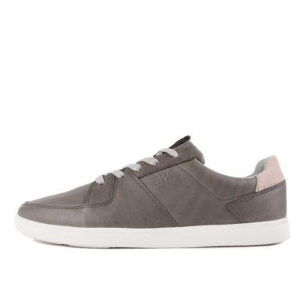 Boxfresh Cladd ICN Leather Medium Grey Grif Grey