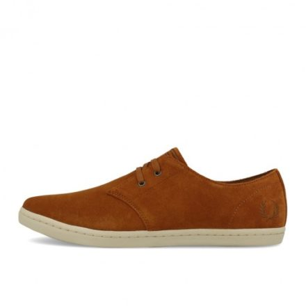 Fred Perry Byron Low Suede Ginger