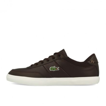 Lacoste Court Master 118 2 CAM Dark Brown Off White