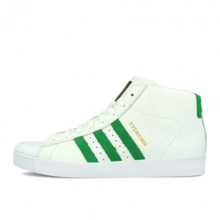 adidas Pro Model Vulc ADV White Green White