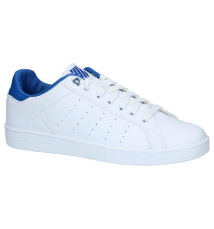 Witte Lage Sportieve Sneakers K-Swiss Clean Court