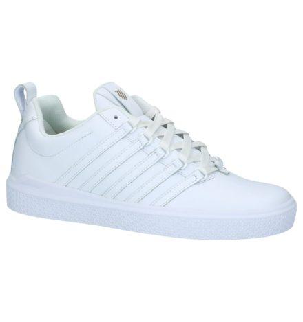 Witte Lage Sportieve Sneakers K-Swiss Donovan