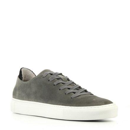 Woden Morten suède sneakers (grijs)