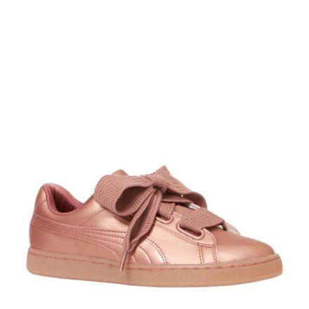Puma Basket Heart Copper sneakers (roze)