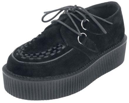 Industrial Punk Creepers Black Sneakers zwart