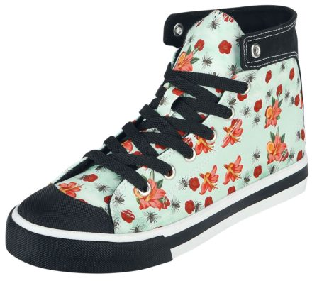 Pussy Deluxe Flowers and Bees Sneaker Sneakers lichtblauw