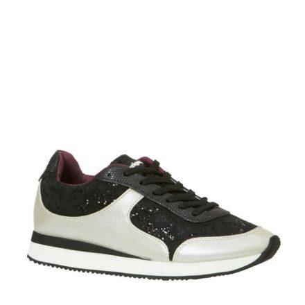 Desigual sneakers met glitter (zwart)