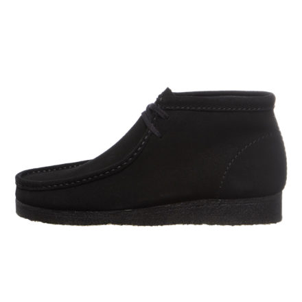 Clarks Wallabee Boot (zwart)