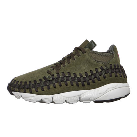 Nike Air Footscape Woven Chukka (creme/bruin/paars)