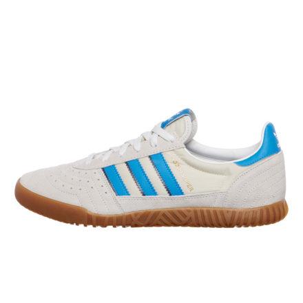adidas Indoor Super (wit/blauw/blauw)