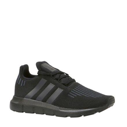 adidas originals Swift Run C sneakers meisjes (zwart)