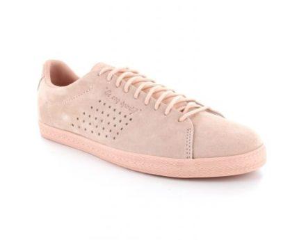 Le Coq Sportif Charline Nubuck Zacht Roze Sneaker (Roze)