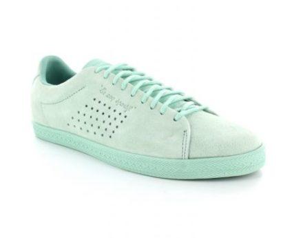 Le Coq Sportif Charline Nubuck Suede Sneaker (Groen)