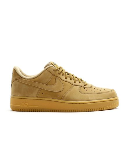 NIKE Air Force 1 `07 Flax Wb Shoe (Flax/Flax-Gum Light Brown-Outd)