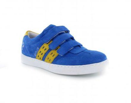 Quick Apollo Jr Velcro Kinder Sneakers (Blauw)