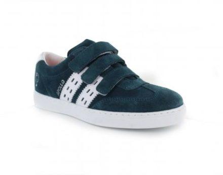 Quick Apollo Jr Velcro Kinder Sneaker (Groen)