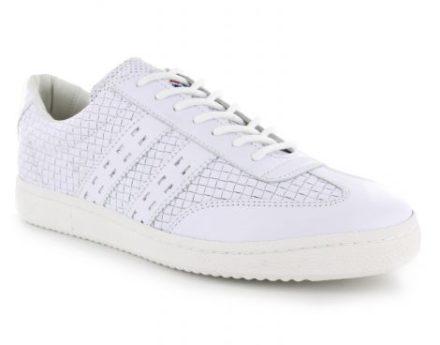 Quick Apollo Witte Leren Sneaker (Wit)
