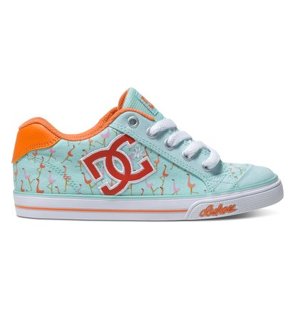 Chelsea Graffik – Lage Schoenen voor Meisjes – Blue – DC Shoes blauw