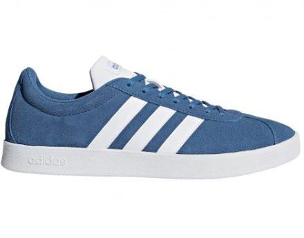 Adidas Vl Court 2.0 Suede Sneaker (Blauw)