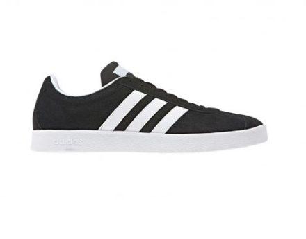 Adidas Vl Court 2.0 Dames Zwarte Sneaker (Zwart)