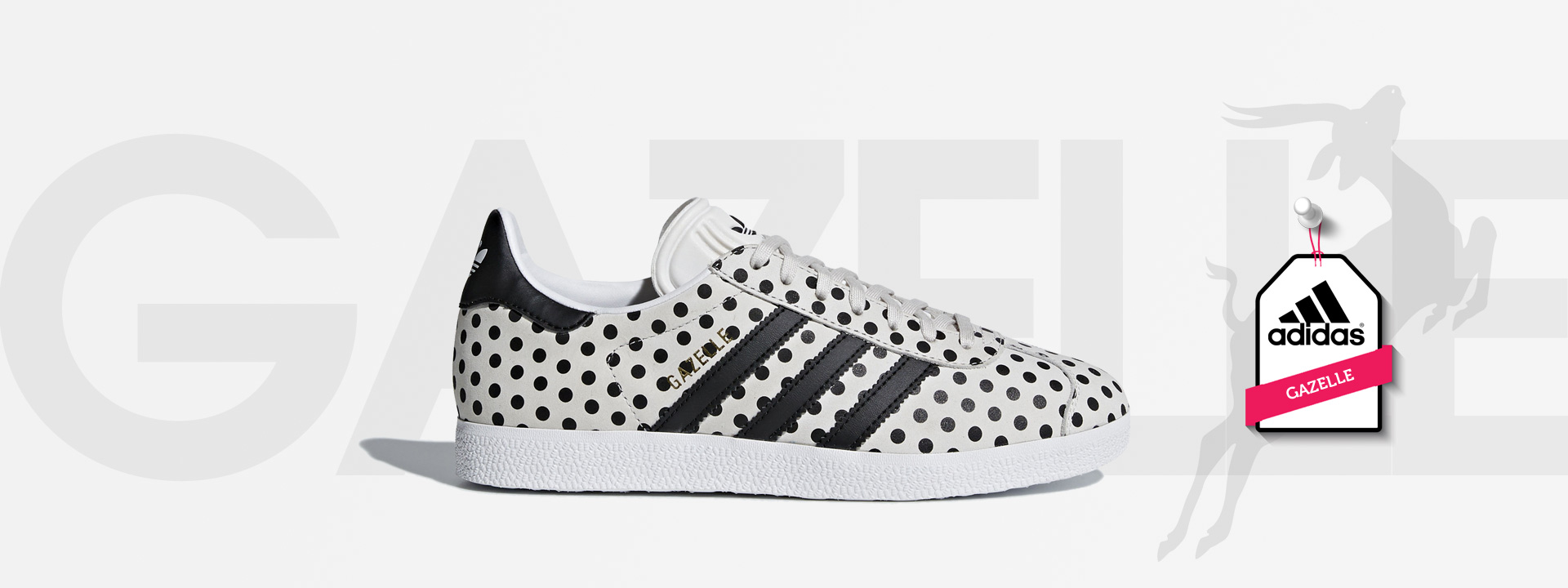 adidas gazelle wit sale dames