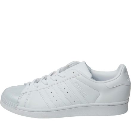 Adidas Originals Dames Superstar Glossy Toe Sneakers Wit