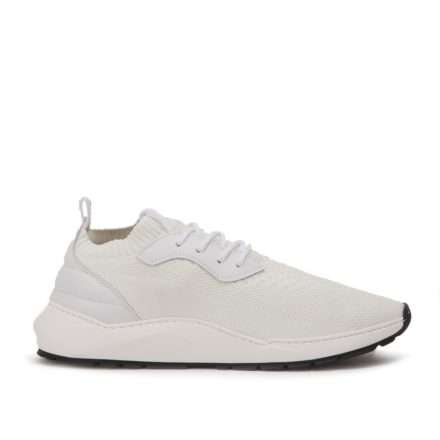 Filling Pieces Knit Speed Arch Runner Condor (wit)