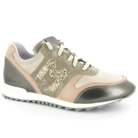 Maripe 22497 1105 Corda Oudroze Sneaker Veterschoen (Beige)