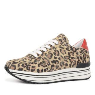 SPM leanrun leopard sneaker