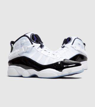 Jordan 6 Rings (wit/zwart)