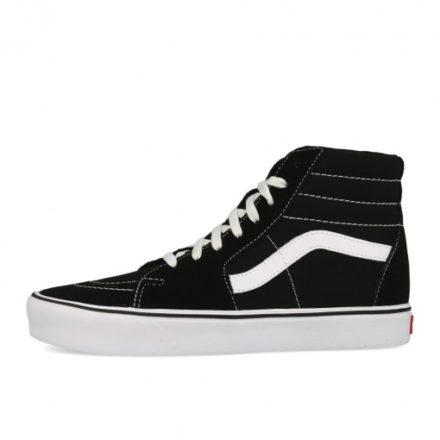 Vans Sk8-Hi Lite Suede Canvas Black White