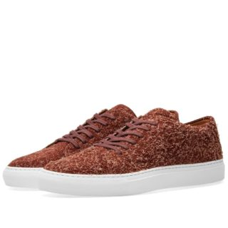 Common Projects Court Low Suede (Burgundy)