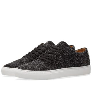 Common Projects Court Low Suede (Black)