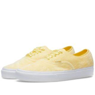 Vans Women's UA Authentic Furry (Yellow)