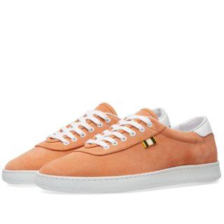 Aprix Suede Low Sneaker (Orange)