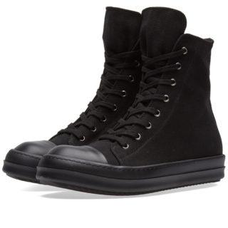 Rick Owens DRKSHDW High Sneaker (Black)