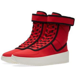 Fear Of God Military Sneaker (Red)