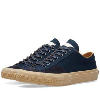 Dries Van Noten Leather Sneaker (Blue)
