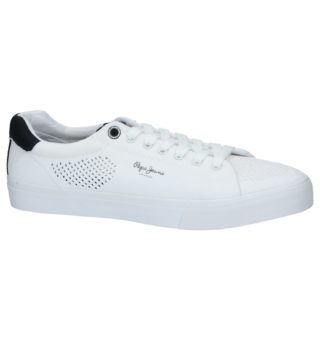 Jeans Sneakers Wit (blauw/wit)