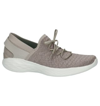 by Skechers Taupe Instappers (taupe)
