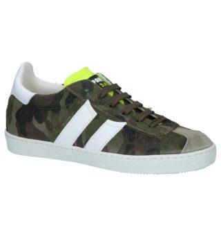 Camouflage Print Geklede Sneakers (print/print)